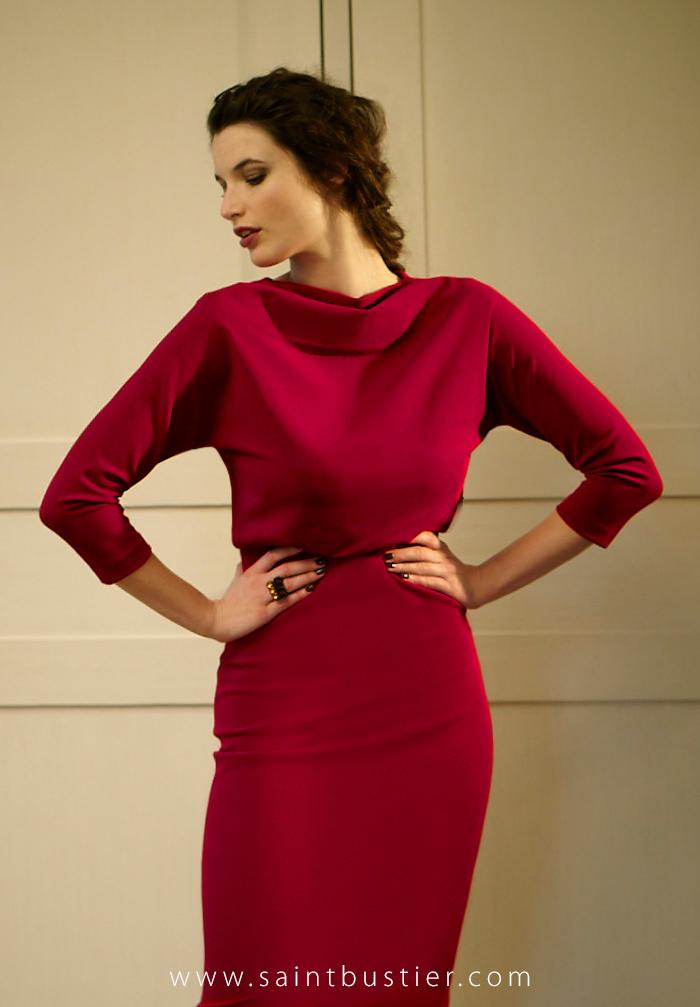 Lauren-garnet-red-dress-editorial