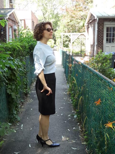 morefrontroom silk blouse rolled sleeves side