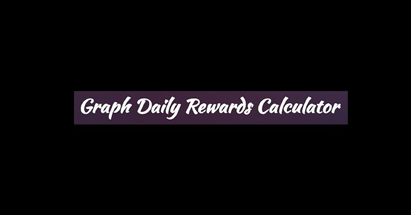 The Graph GRT Delegator rewards