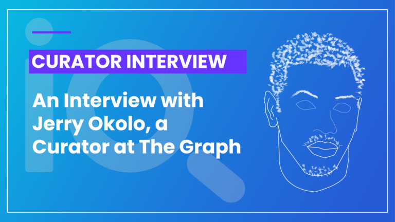Curator The Graph Jerry Okolo