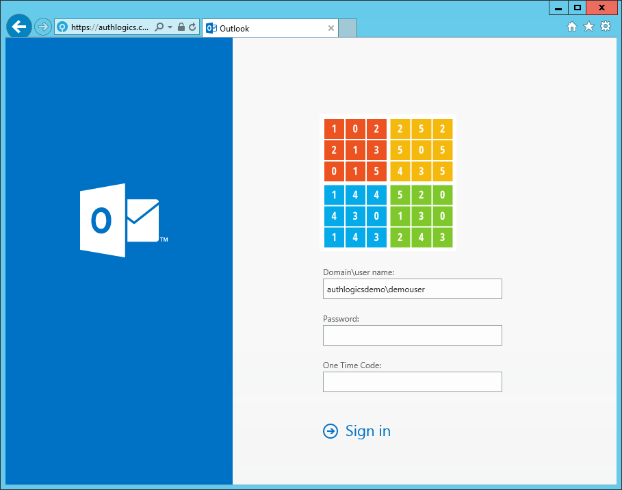 PINgrid integrated with Outlook Web App