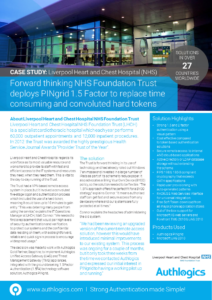 Liverpool Heart and Chest Hospital NHS Case Study Thumbnail