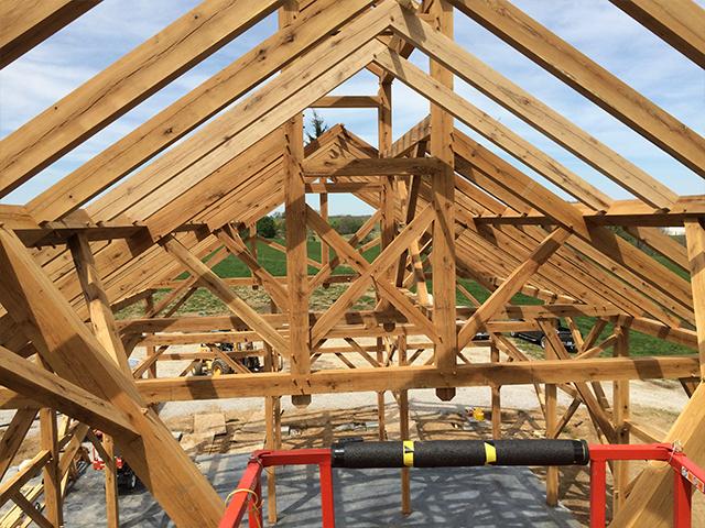 Midwest Custom Timber Frames Weston Barn
