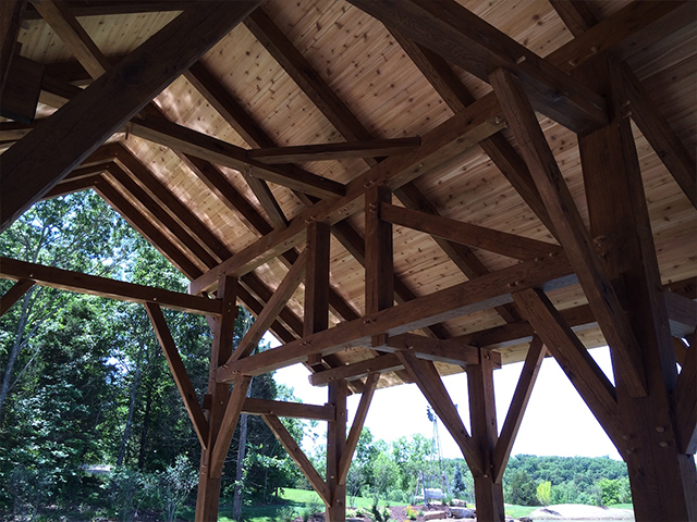 Midwest Custom Timber Frames Rost
