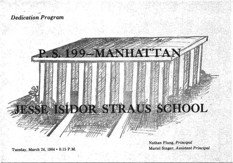Dedication Program Tue Mar 24, 1964