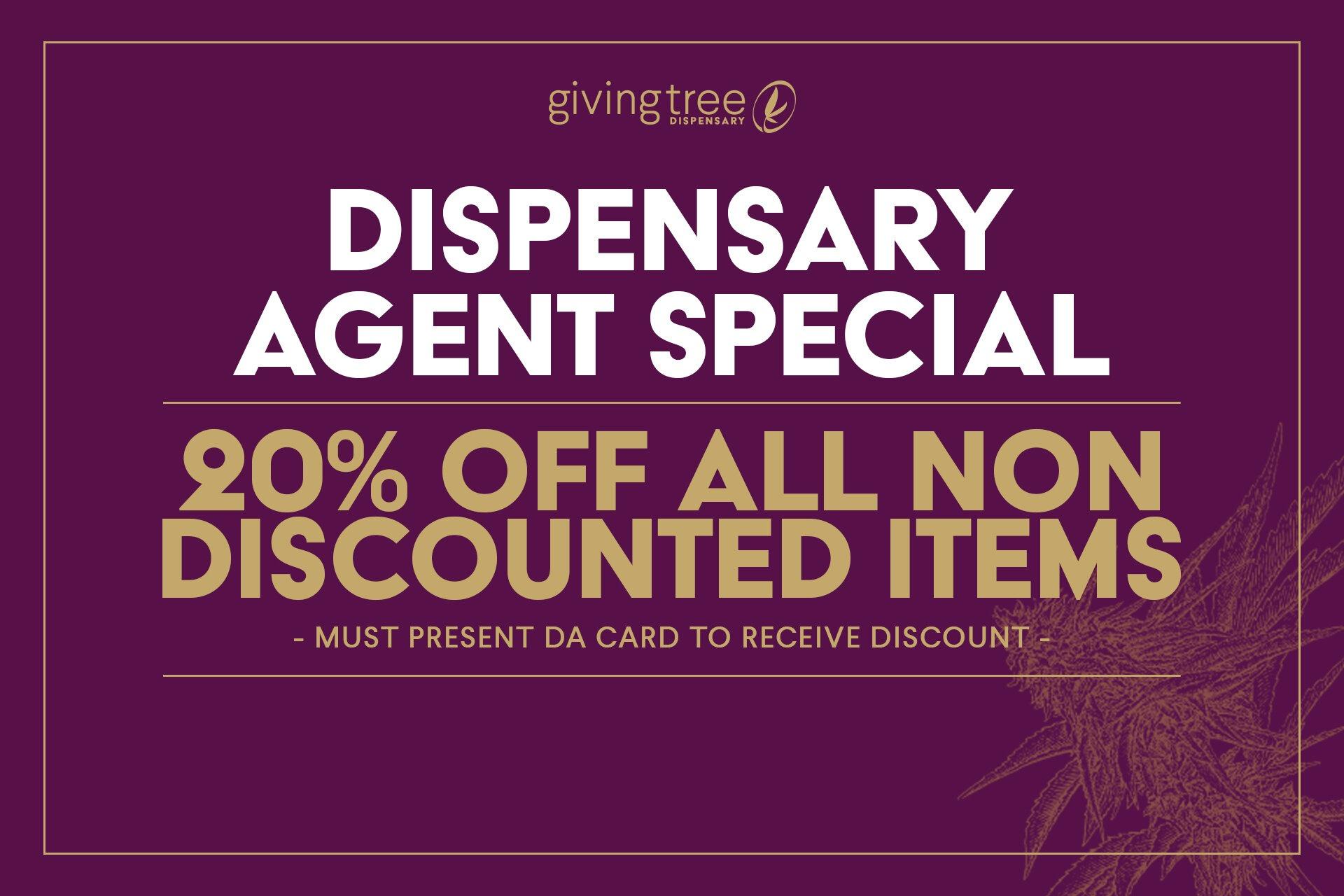 phoenix dispensary agent special givingtreedispensary.com