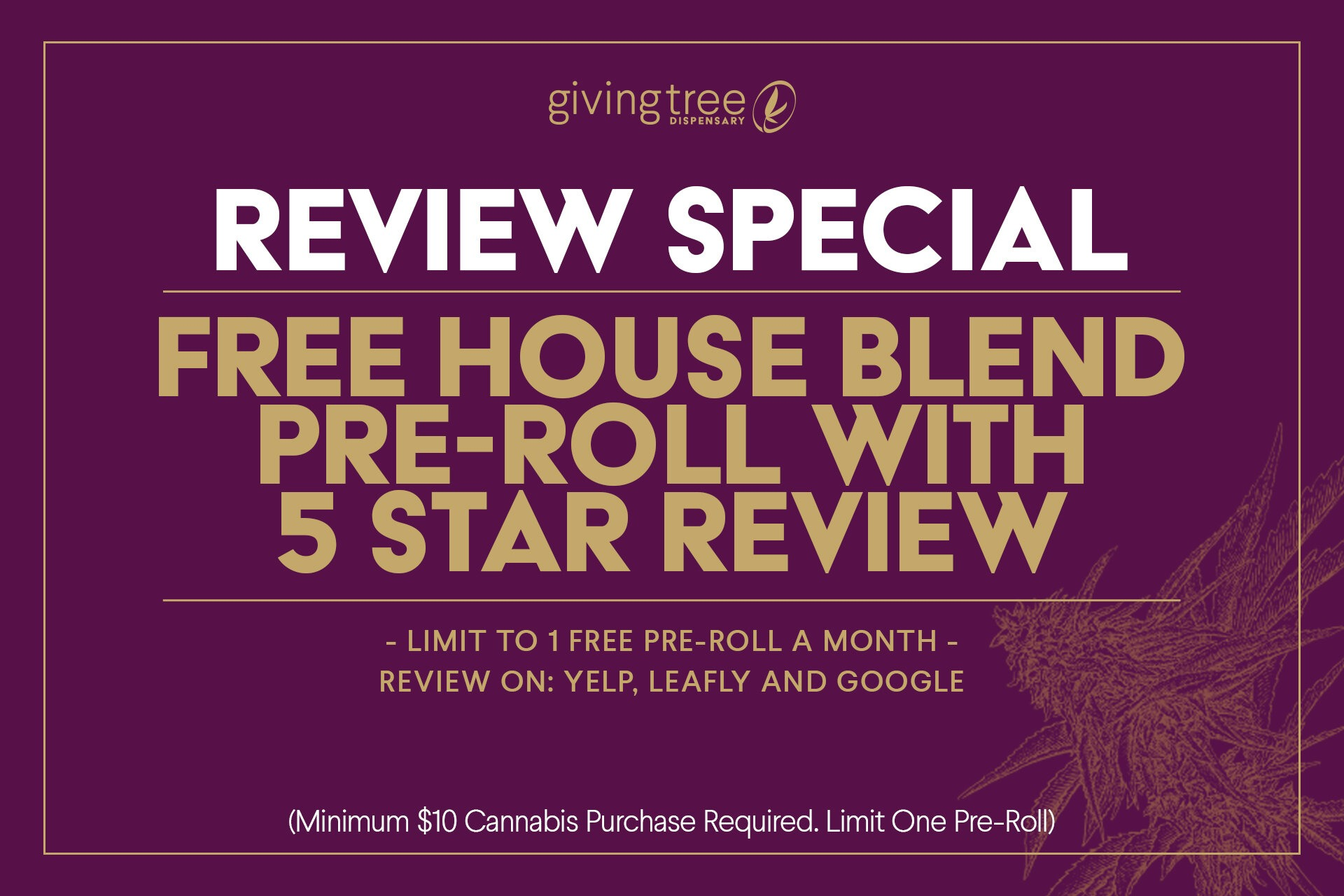 phoenix dispensary review special givingtreedispensary.com
