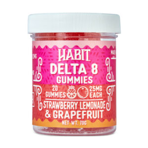 New Delta 8 Strawberry Lemonade and Grapefruit Gummies