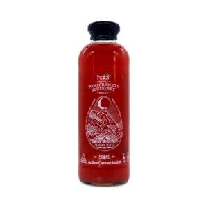 CBD water pomegranate blueberry