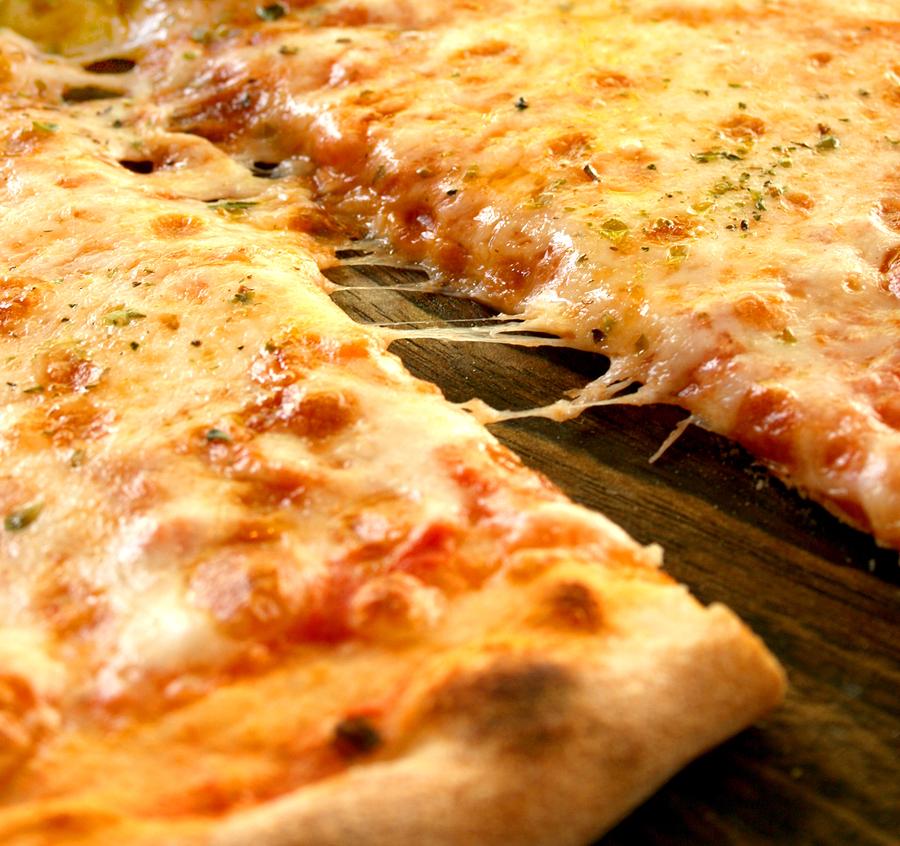 Plain pizza