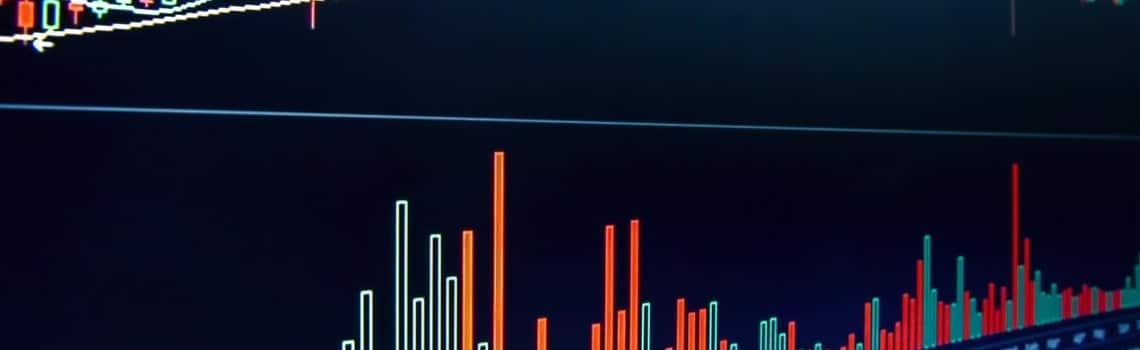 Stock Market Report 2020 Fourth Quarter Graph with Bars