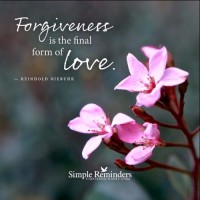 Forgiveness: A Prescription for Self-Purification