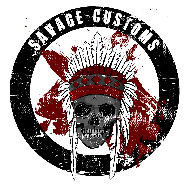 Savage Customs Logo