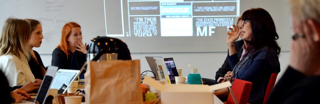KTH Humanities Tech event on Feminist in a Software Lab, 2019. Photo credit. Danielle Morgan.