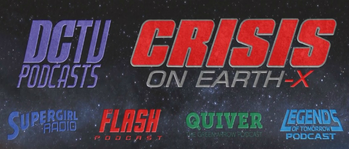 DCTV Arrowverse Podcast Crossover Banner Earth-X