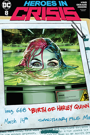 Heroes In Crisis #8 Alt Cover