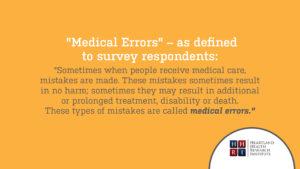 Medical Errors Definition