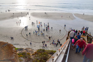 new Year's day 2018 transition labyrinth kirkos helps mental health