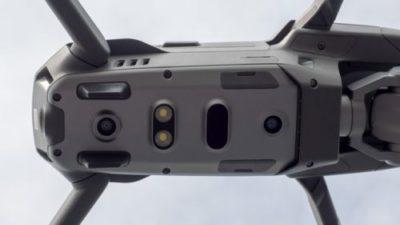 DJI Mavic 2 bottom sensors