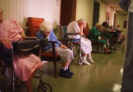 unengaged nursing home patients