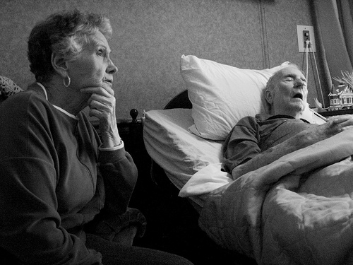 nursing home patient suffering from abuse