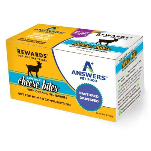 Answers Goat Cheese Blueberry 8 Ounce 1