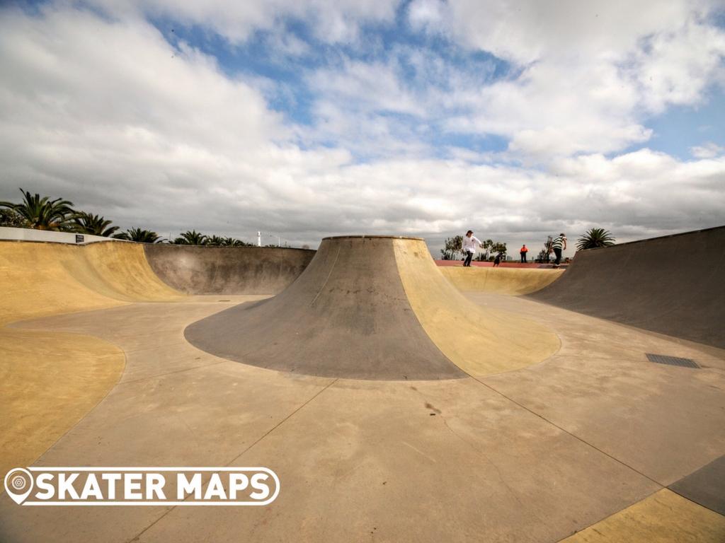 St Kilda Skatepark, St Kilda Vic Australia Skateparks