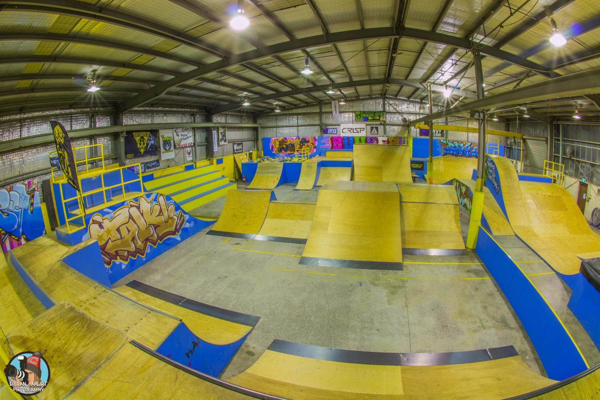 The Bunker Indoor Skatepark