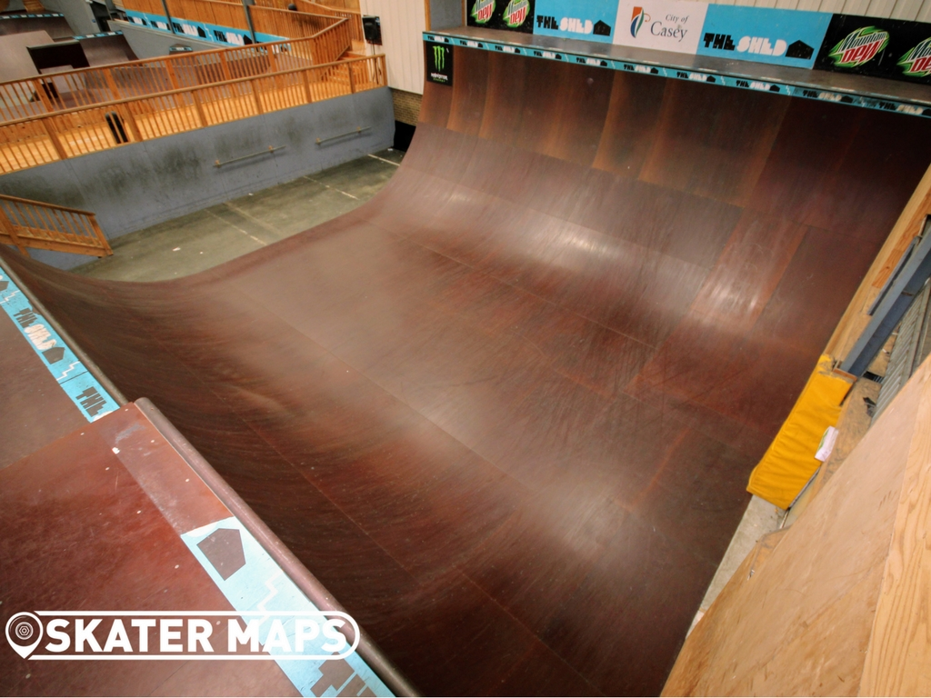 The Shed Skatepark Halfpipe