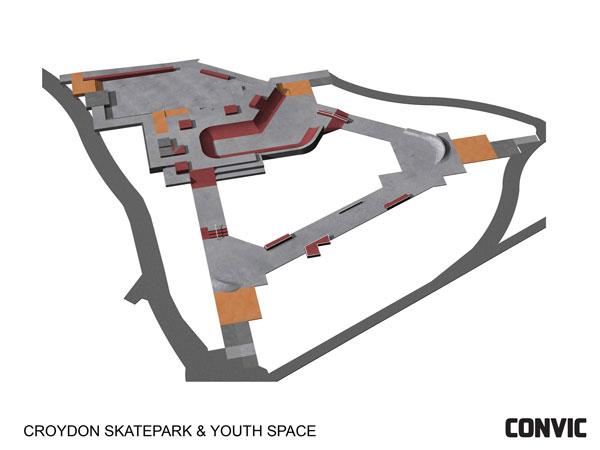 Croydon Skate Park Design