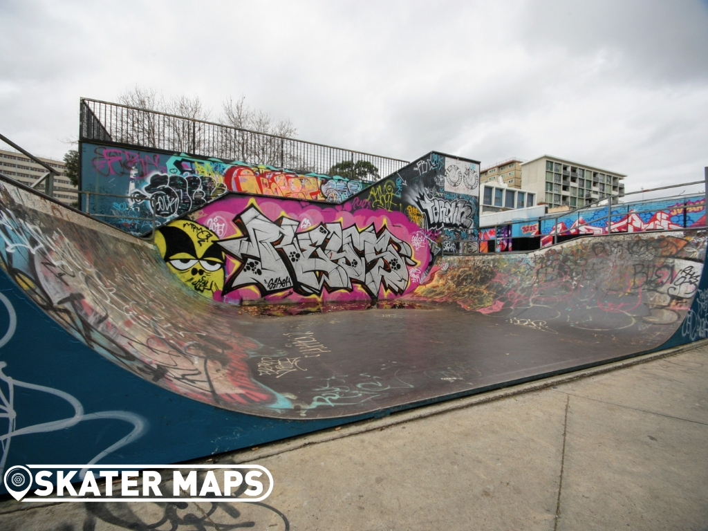 Prahran Steel Mini Skate Ramp