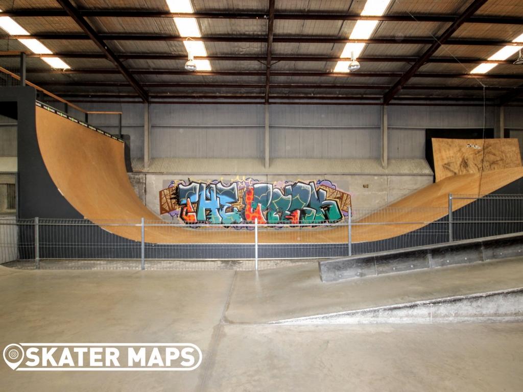 The Park Geelong Skatepark Indoor Private Undercover Skate Park