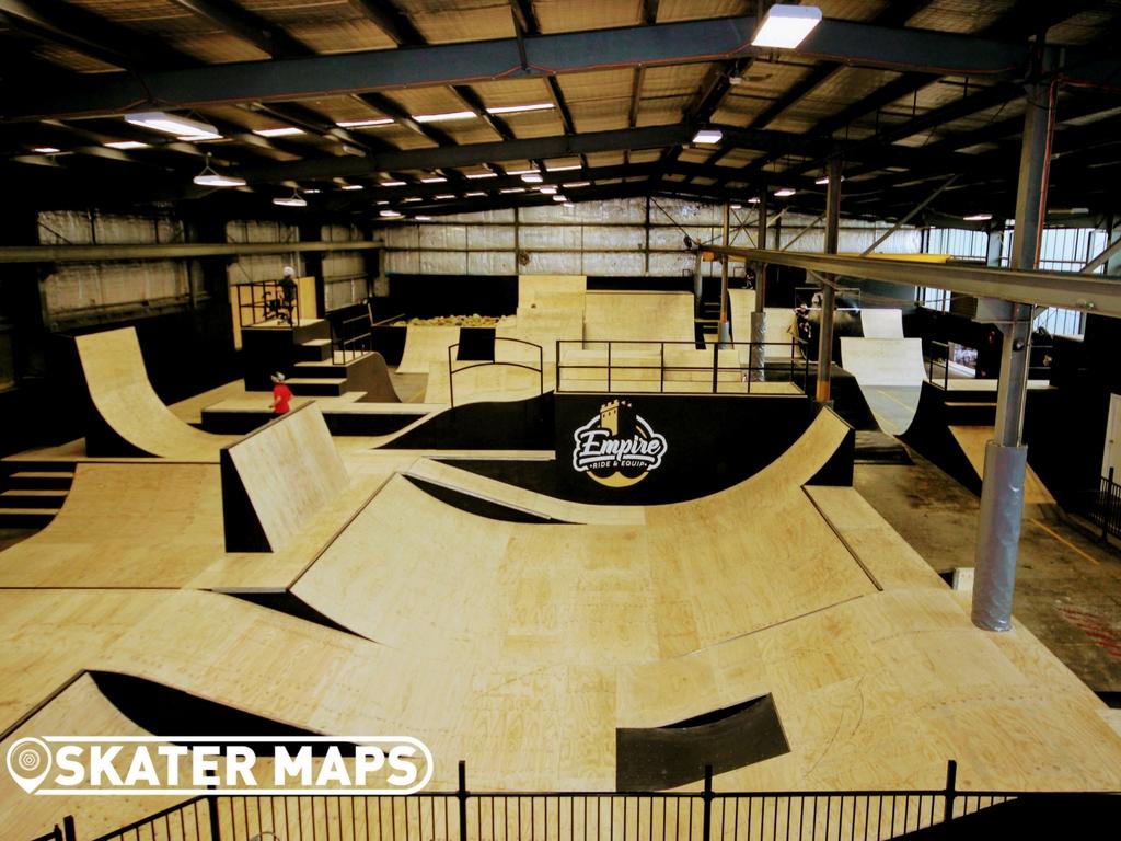 Empire Ride & Equip Indoor Skatepark Melbourne   The Old Bunker 1