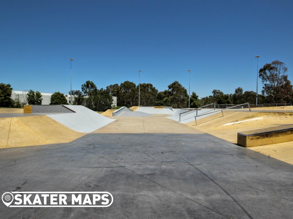 Box Hill Skatepark, Melbourne Vic