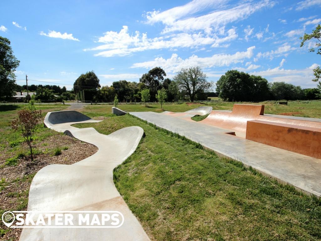 Lancefield Skatepark, Lancefield Vic