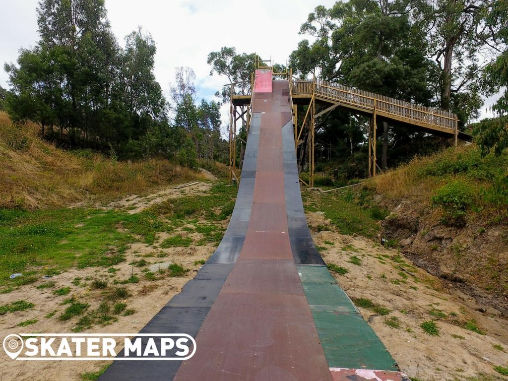 Mega Ranch Nyora Vic Australia Huge Vert Skateboard Ramps