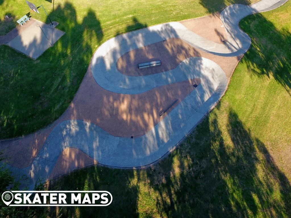 Kilsyth South Skatepark Pump Track Vic Aus