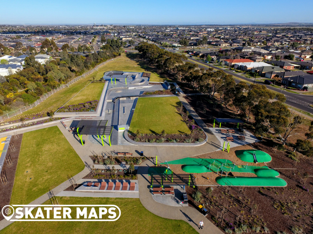 Baden Powell Skatepark Tarneit Vic Melbourne