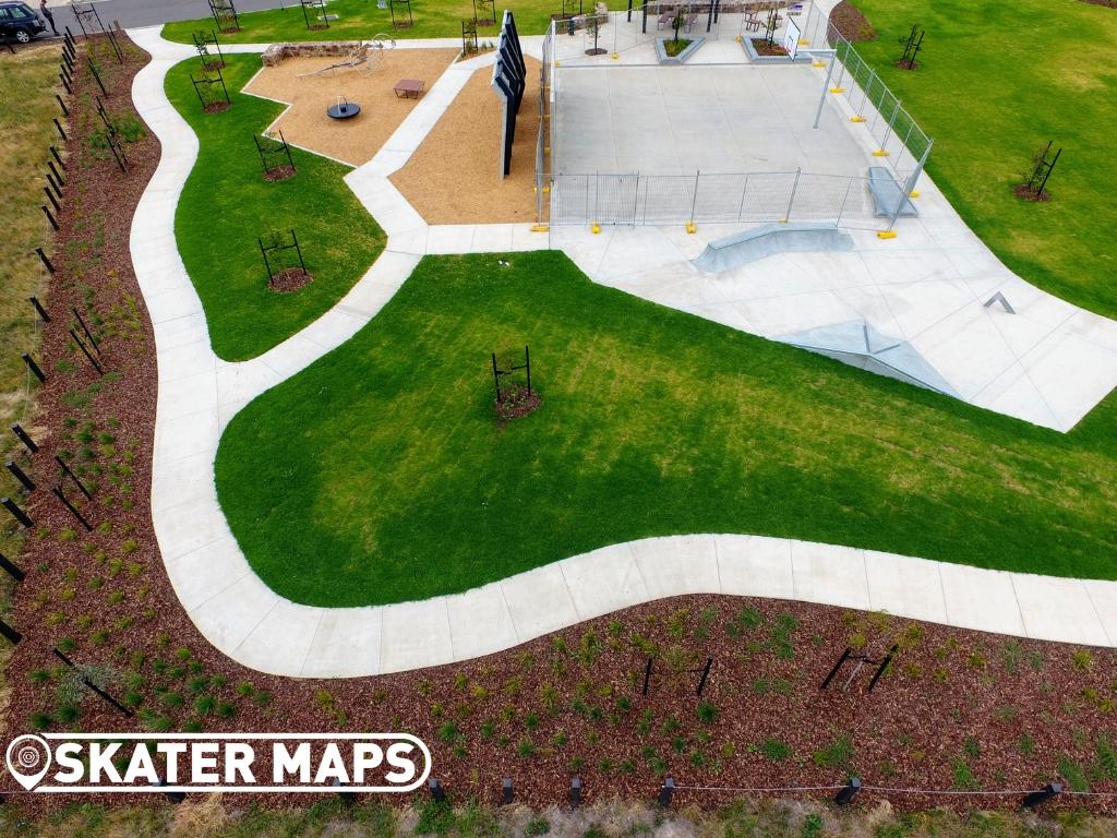 Sunbury Fields Skatepark New