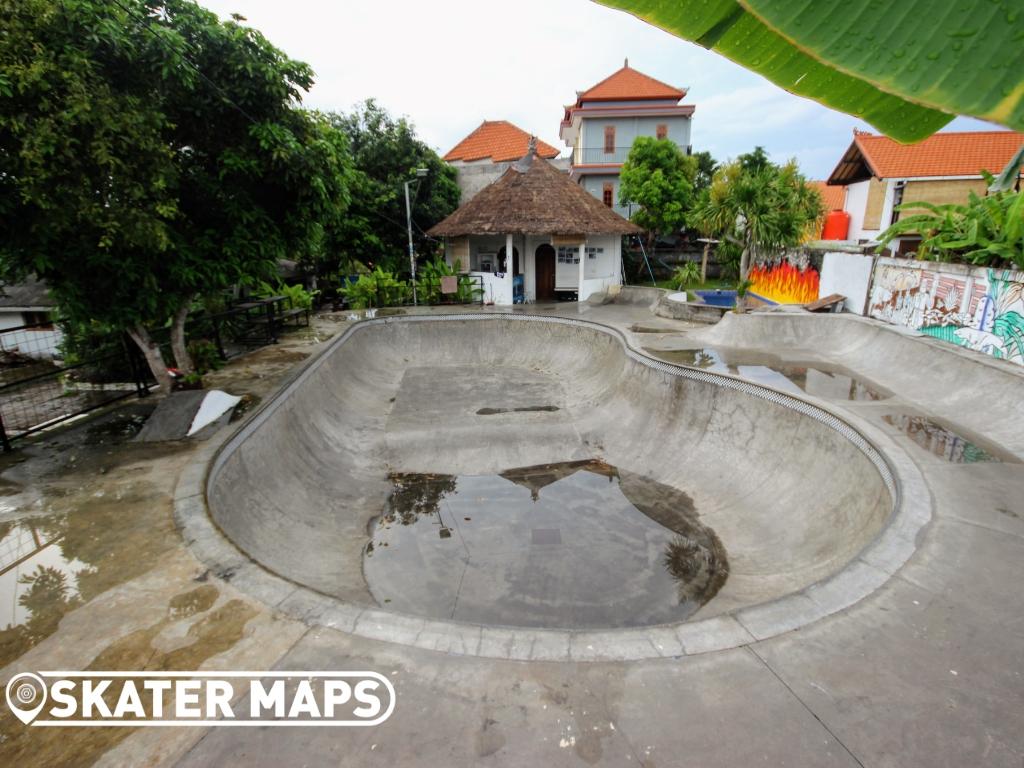 Skateboard Parks & Bowls Bali
