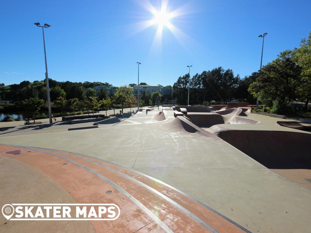 Belconnen Skatepark ACT Australia