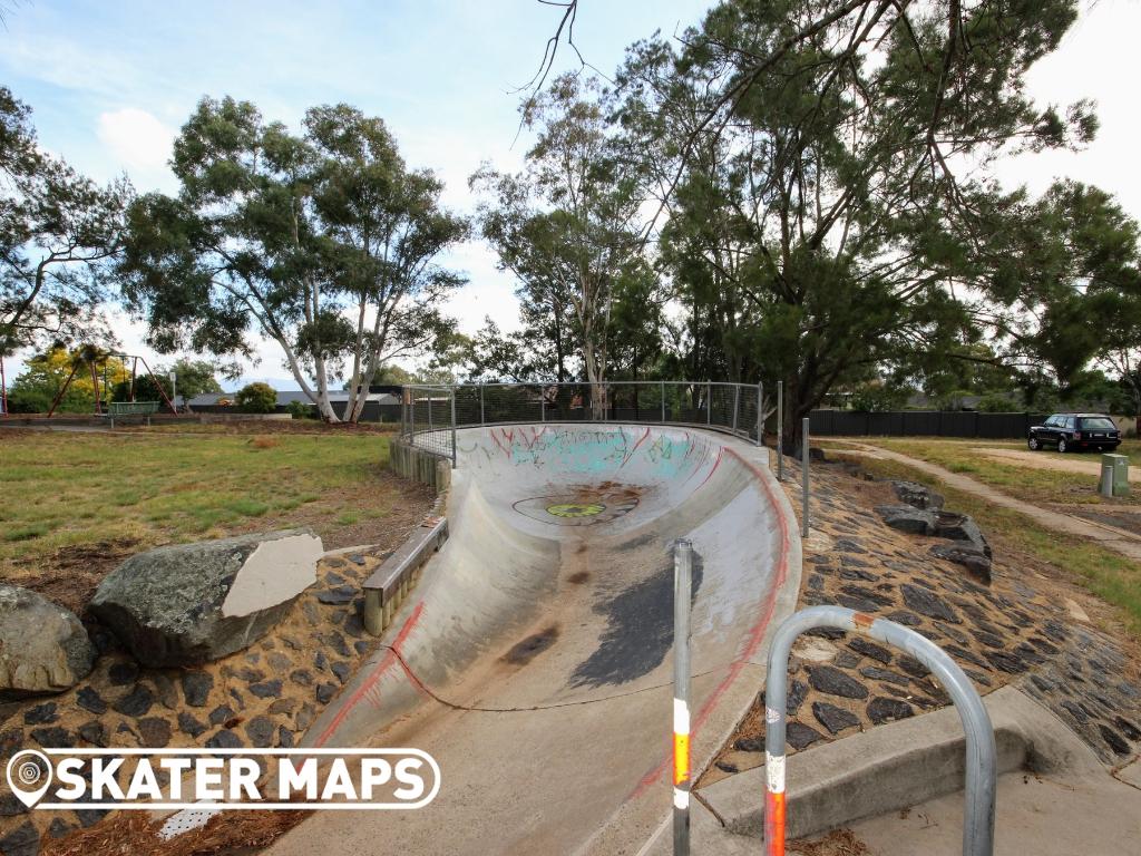 Skateboard Bowl Canberra ACT Aus