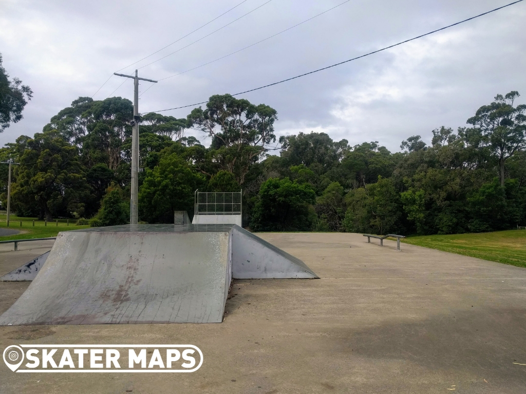 Mallacoota Skateboard park Vic Aus