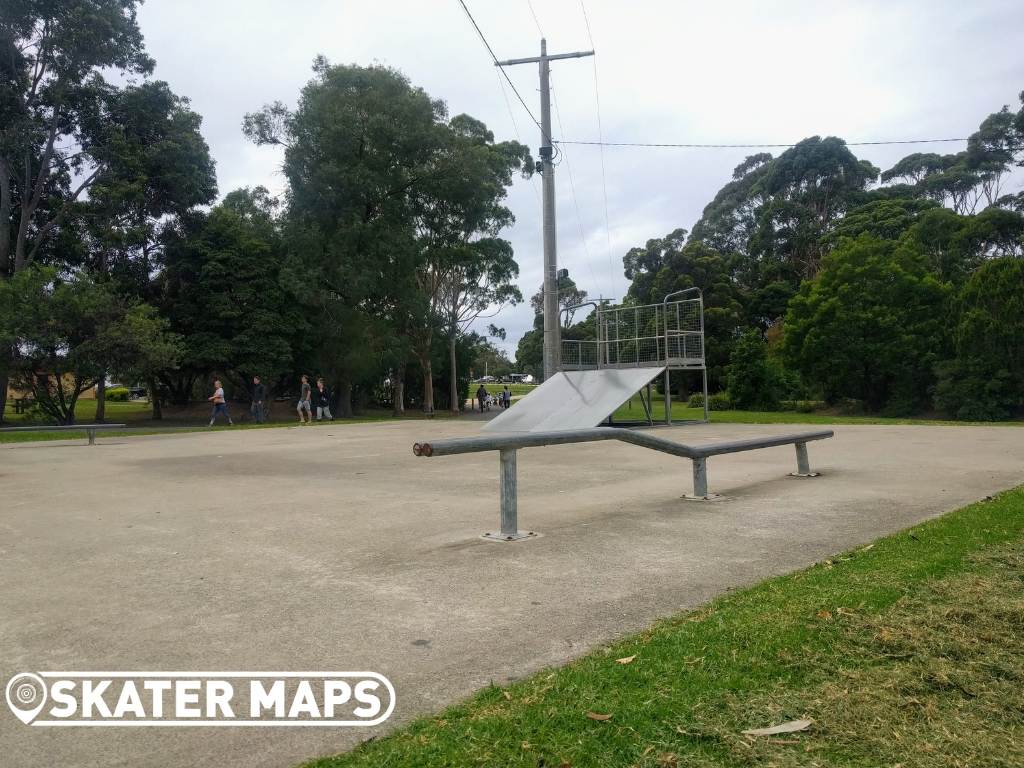 Circle rail, Mallacoota Skate Park