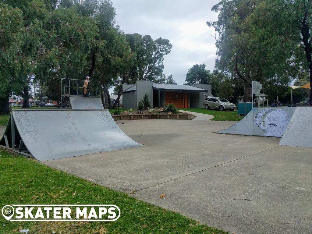 Quarters, Ramps & Spine Concrete Skate Park