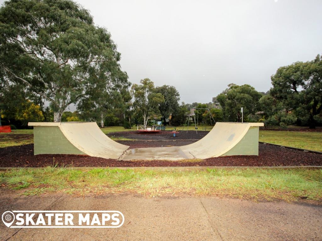 Canberra Mini Skateboard Ramps