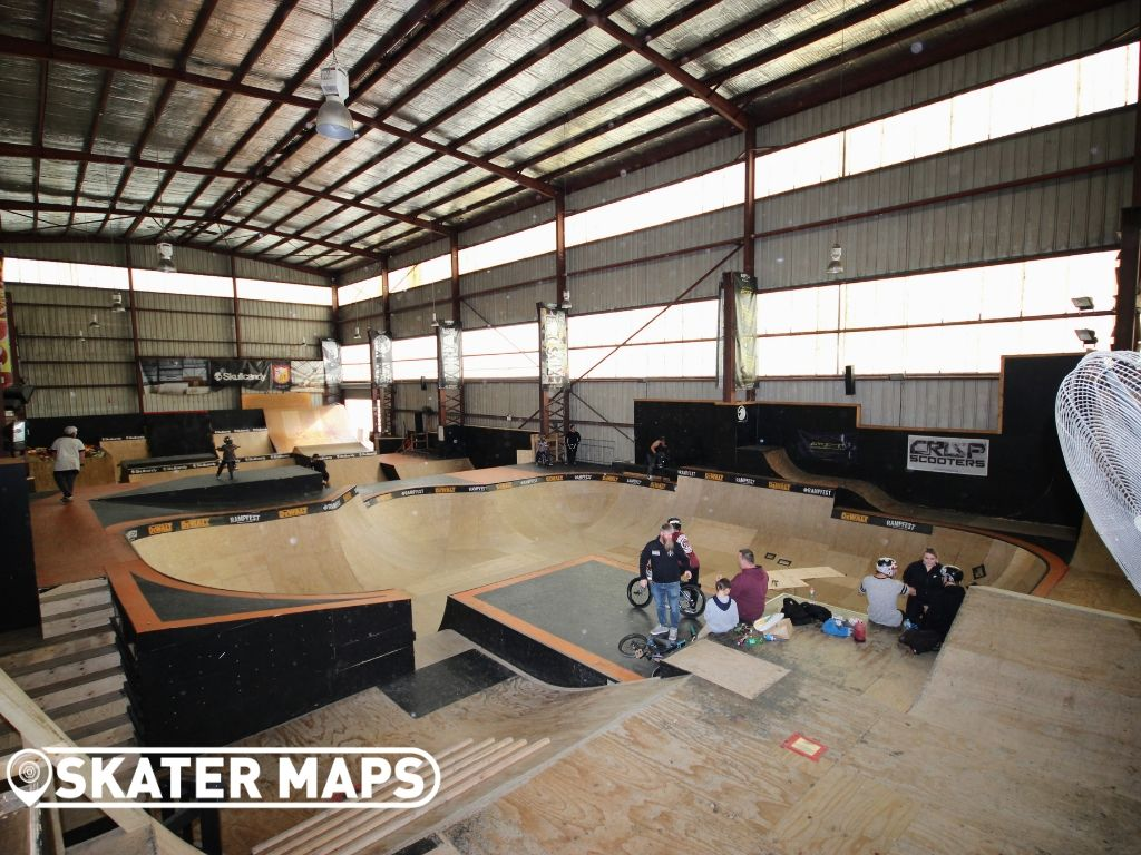Private Indoor Skateparks Australia