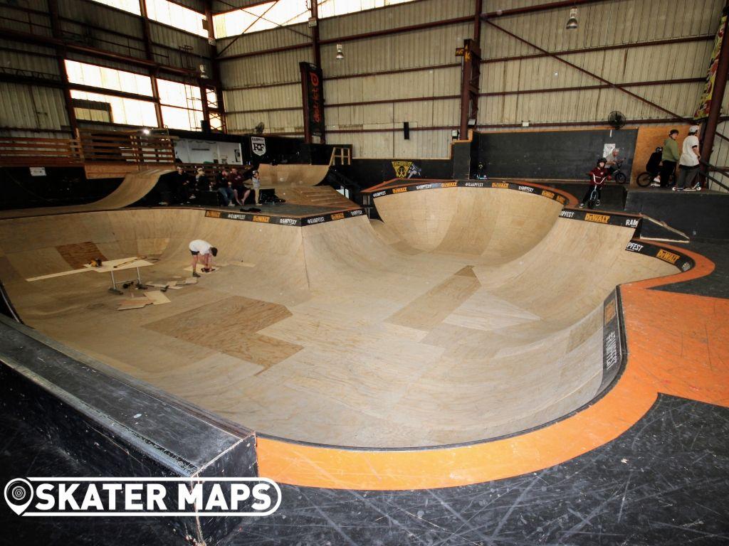 New Skate Bowl Melbourne