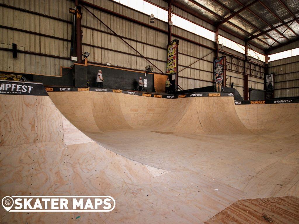 Skateboarding Bowl