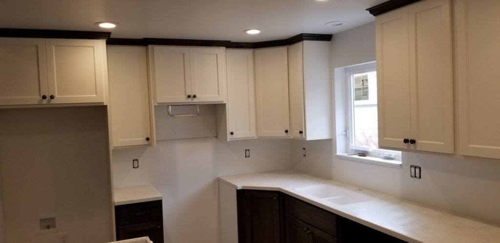 White Solid Surface Countertop